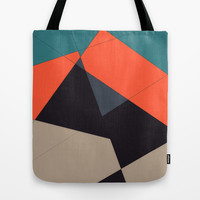 Over the Town Tote Bag by DuckyB (Brandi)