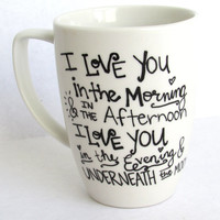I Love You in the Morning - Coffee Mug