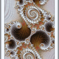 Instant download sand spirals, nuetral colors abstract design