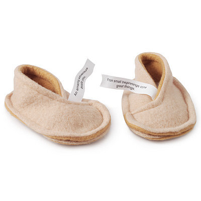 BABY FORTUNE COOKIE BOOTIES | Baby Slippers, socks, shoes, accessories | UncommonGoods
