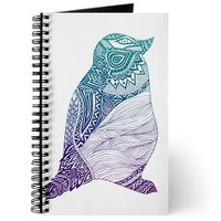 Duotone Penguin Journal> Pom Graphic Design