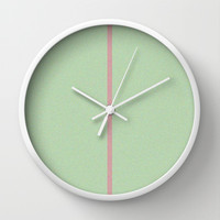 Re-Created Interference ONE No. 2 Wall Clock by Robert S. Lee