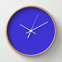 Re-Created Interference ONE No. 4 Wall Clock by Robert S. Lee
