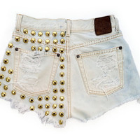 Rana short studded cut off by Omeneye on Etsy
