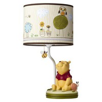 Disney Friendship Pooh Lamp Base & Shade
