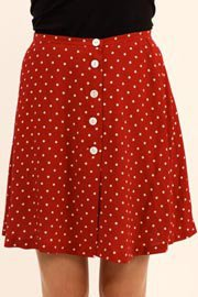 Lenna Agnes Polka Dot Skirt  @ Libby Story