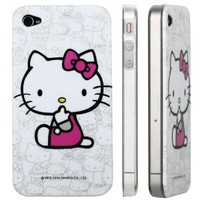 Apple iPhone 4 Hello Kitty Design Polycarbon Hard Case