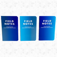 Cold Horizon Notebooks - Set of 3