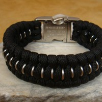 Armored Series Paracord Survival Bracelet - Trilobite Weave