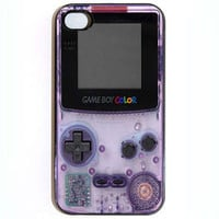 iPhone 4 4s Case Gameboy Color Hard iPhone Case by KustomCases
