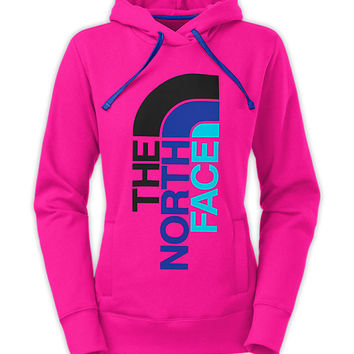 The North Face Women's Shirts & Tops Hoodies WOMEN'S TRIVERT LOGO PULLOVER HOODIE