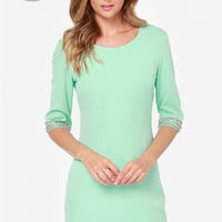 LULUS Exclusive Sleeve-ing Beauty Mint Green Dress