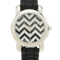 Chevron Rubber Watch