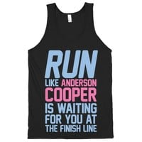 Run Like Anderson Cooper Is Waiting For You At The Finish Line