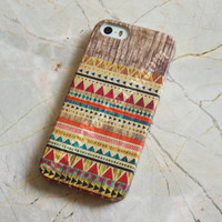 Aztec Geometric Wood Tribal iPhone Case Cover , iPhone 5s Case , iPhone 5 , iPhone 5c Case ,iPhone 4 ,iPhone 4s Case ,Samsung Galaxy S4 Case