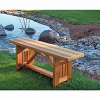 Cabbage Hill Cedar Bench
