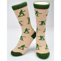 "CREW SOCKS - ""ARMY MEN"""