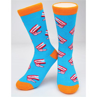 "CREW SOCKS - ""CHATTERING TEETH"""