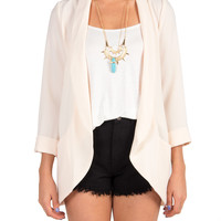 Lush Clothing - Let's Get Comfy Oversized Blazer