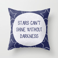 Stars V.1 Throw Pillow by C Designz