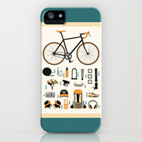 bike gear iPhone & iPod Case by khandisha | Society6