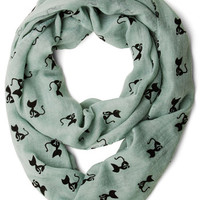 Cat Person Scarf | Mod Retro Vintage Scarves | ModCloth.com