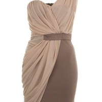 2012 new arrival elegant one-shoulder formal dress