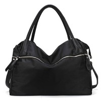 Large Double Handle Purse Handbag Cross Body Shoulder Bag