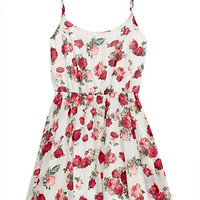Floral Fever Chiffon Dress