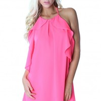 Bombshell Ruffle Dress