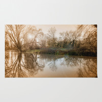 TREE - FLECTION 2 Area & Throw Rug by Catspaws | Society6