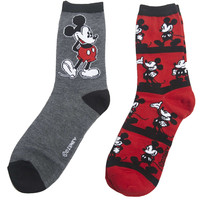 Mickey Mouse™ Sock 2-Pack | Wet Seal