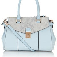 Pippa Double Pocket Lady Bag | Blue | Accessorize