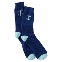 Mossimo Supply Co. Men's 1Pk Socks - Anchors