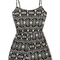 Totally Tribal Print Romper