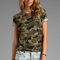 Lovers + Friends for REVOLVE Relaxed Tee in Camo