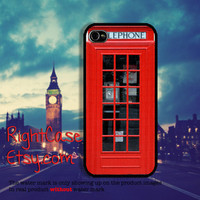 Vintage Red Telephone Box iPhone Case,Old Style, Samsung Galaxy S4, S3, iPhone 5S Case, iPhone 4, iPhone 4s cases, iPhone 5C Cover, London