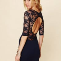 Free People Open Back Lace Tunic at Free People Clothing Boutique