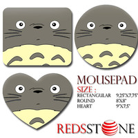 Funny Totoro Pattern Mouse Pad