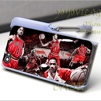 Chicago Bulls Derrick Rose 2 - For iPhone 4/4s,5,5c,5s and Samsung Galaxy S2,S3,S4 Case.