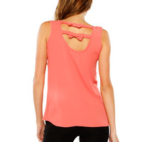 Papaya Clothing Online :: BACK BOW NECKLACE CHIFFON TOP
