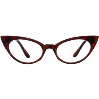 Office Flirt Cateye Glasses in Tort