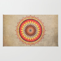 Sun Area & Throw Rug by Katayoon Photography