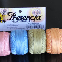 New Perle cotton 08 thread  Presencia Monet by purrfectstitchers