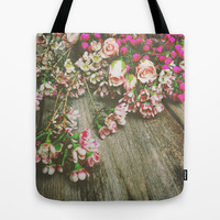 She Had a Spirit That Was Wild and Free Tote Bag by Olivia Joy StClaire