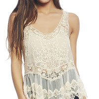 Crochet Long Vest | Wet Seal