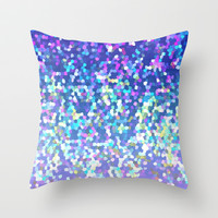 Glitter Graphic G209 Throw Pillow by MedusArt