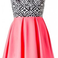 The Strapless Tribal Skater Dress - 29 N Under