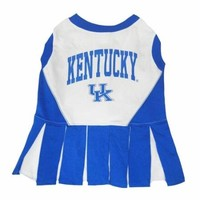 Pets First Kentucky University Dog Cheerleader Outfit, Medium