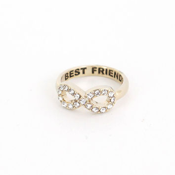 Infinity Stone Best Friends Ring